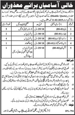 Department Of Archaeology Govt Of Punjab 30 Jan 2019 Jobs