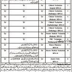 District Headquarters Hospital Chitral Jobs 04 Mar 2019