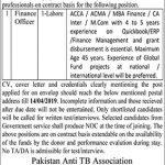 Pakistan Anti TB Association Jobs 30 Mar 2019