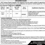 DHQ Teaching Hospital Sargodha Jobs 27 Apr 2019