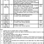 NTS Public Sector Organization KPK Jobs 26 Apr 2019