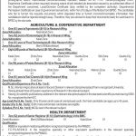 Balochistan Public Service Commission BPSC Jobs 09 May 2019