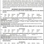 Balochistan Public Service Commission BPSC Jobs For Educators Jobs 11 May 2019