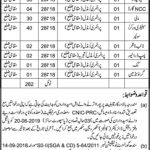 Education Department Govt Of Sindh Jobs 28 May 2019