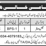 Mess Waiter Required In Pakistan Army Jobs 19 May 2019