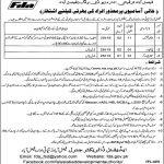 NTS Faisalabad Development Authority Jobs 25 May 2019