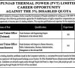 Punjab Thermal Power Pvt Limited Jobs 24 May 2019