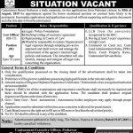 Cantonment Board Peshawar Jobs 20 Jul 2019