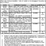 Finance Department Govt Of Khyber Pakhtunkhwa Jobs 13 Jul 2019