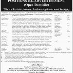 Finance Department Govt Of KPK Jobs 12 Jul 2019