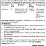 Health Department Govt Of Balochistan Jobs 02 Jul 2019