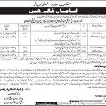 Irrigation Department Govt Of Sindh Jobs 08 July 2019