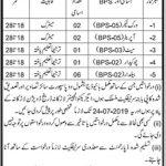 Irrigation Department Larkana Jobs 08 July 2019