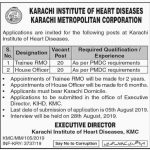Karachi Institute Of Heart Diseases Jobs 11 Jul 2019