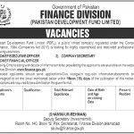 Finance Division Govt Of Pakistan Jobs 17 Aug 2019