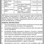 Irrigation Department Govt Of Sindh Jobs 29 Aug 2019