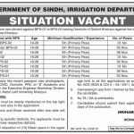 Irrigation Department Khairpur Jobs 09 Aug 2019