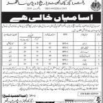 Irrigation Department Sanghar Division Jobs 07 Aug 2019