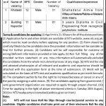 NTS Announced Latest  Mardan Development Authority Jobs 17 Aug 2019