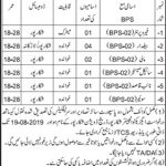 Office Of The Executive Engineer Shikarpur Division Jobs 05 Aug 2019