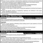 Public Sector Organization Karachi Jobs 04 Aug 2019