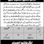 Communication And Works Department Malakand Jobs 05 Sep 2019