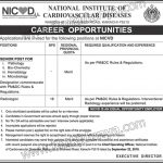 National Institute Of Cardiovascular Diseases Jobs 08 Sep 2019