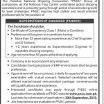 Pakistan National Shipping Corporation (PNSC) Jobs 16 Sep 2019