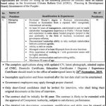 Planing And Development Board Govt Of The Punjab Jobs 02 Sep 2019