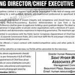 Sui Northern Gas Pipelines Limited Jobs 08 Sep 2019