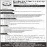 Bahria University Jobs 08 October 2019