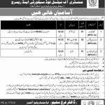 Ministry Of National Food And Security Research Jobs 05 Oct 2019