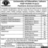 University of Education Jobs 09 October 2019
