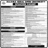 Allama Iqbal Open Universit Jobs 16 November 2019