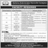 Bahria University Karachi Jobs 17 November 2019