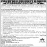 Pakistan Cricket Board (PCB) Jobs 05 November 2019