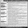Pakistan Red Crescent Society Jobs 09 November 2019