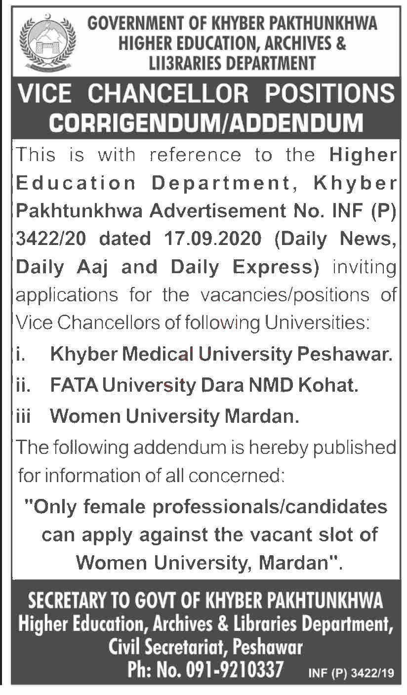 Jobs in Higher Education Archives & Libraries Department 04 October, 2020