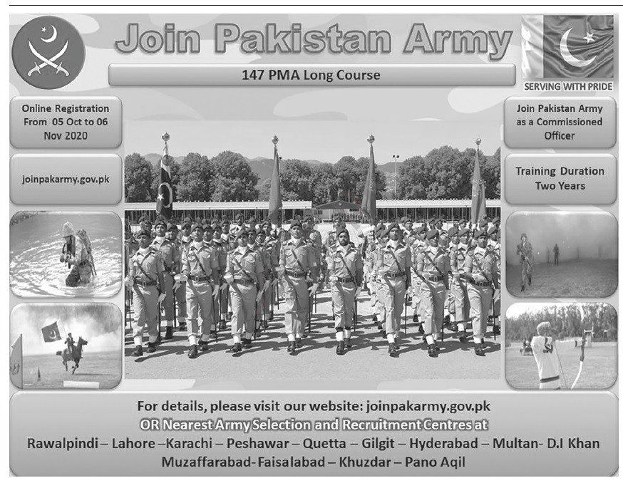 Jobs in Pakistan Army Join as Junior Commissioned Officer 05 October, 2020