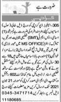 Jobs in Pak Army 305 Spares Depot EME Karachi 2021