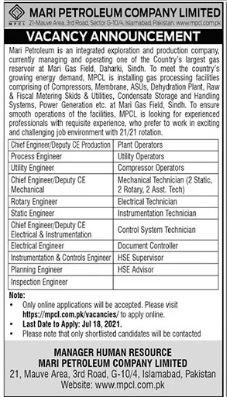 Supervisor Engineer Jobs in Islamabad